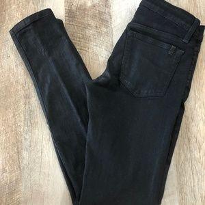 Joes Jeans The Skinny Wax Coated Black
